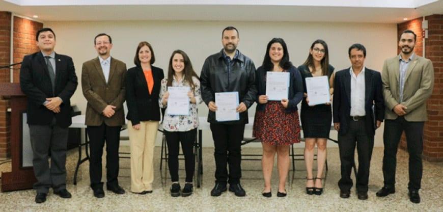 Entrega de pasantías de las universidades de la Unión Europea a estudiantes de la Facultad de Ciencias Ambientales y Agrícolas imagen