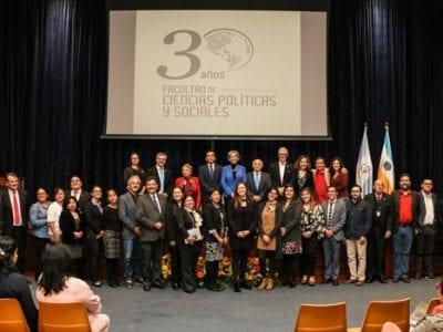 Conmemoración 30 Aniversario de la Facultad de Ciencias Políticas y Sociales Image