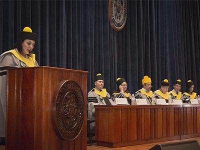 Graduación de la primera promoción del Técnico y Licenciatura en Terapia Respiratoria en el Campus Central Image
