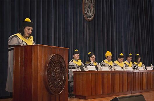 Graduación de la primera promoción del Técnico y Licenciatura en Terapia Respiratoria en el Campus Central imagen