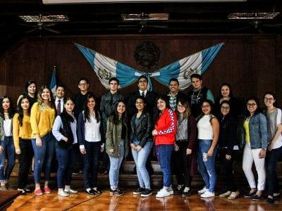 Visita a la Corte de Constitucionalidad Image