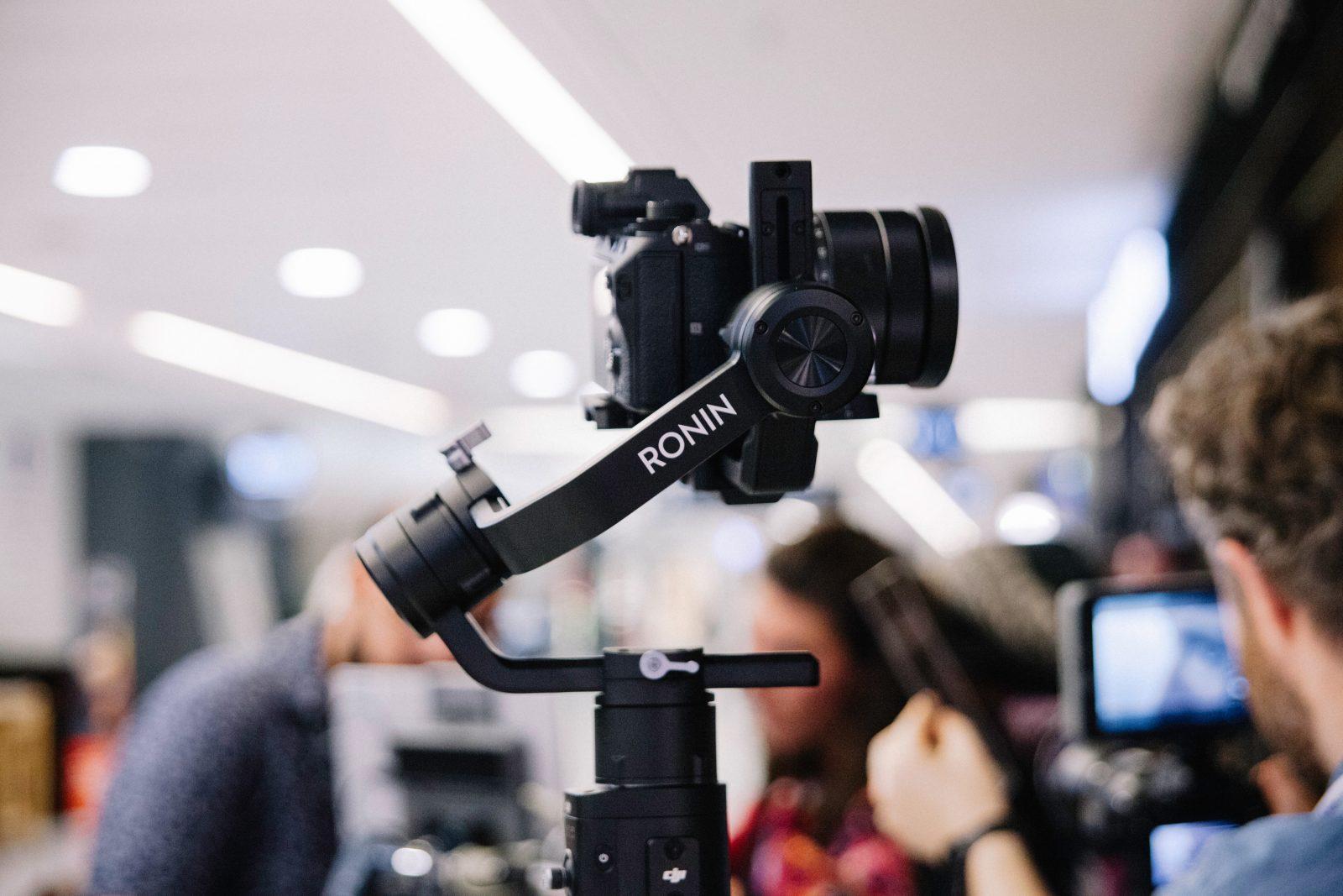 black Ronin DSLR camera