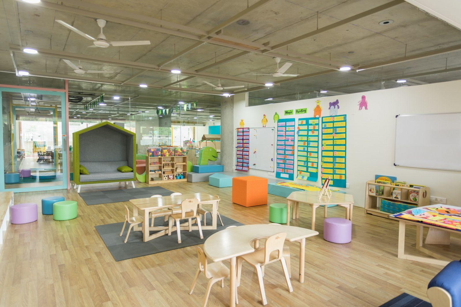 nursery room interior view
