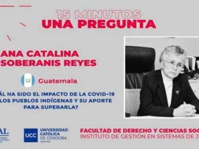 Iniciativa: Derecho y COVID-19, 15 minutos 1 pregunta Image