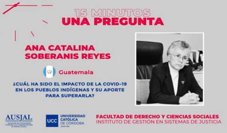 Iniciativa: Derecho y COVID-19, 15 minutos 1 pregunta imagen