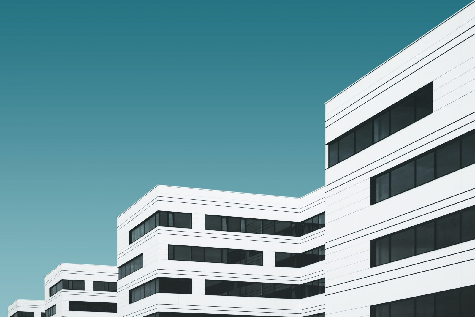 white concrete building illustration