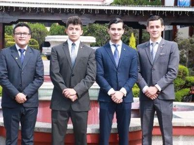 Landívarianos obtienen primer lugar en la Competencia Eduardo Jiménez de Aréchaga Image