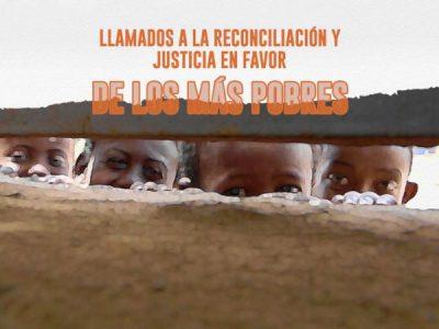 Llamados a la reconciliación y justicia en favor de los más pobres Image